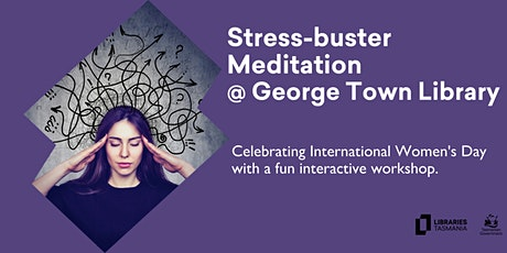 Stress-Buster Workshop @ George Town Library tickets