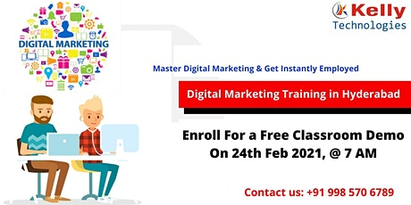 Sign Up For Free Digital Marketing Demo Session On24th Feb, 7 AM in Hyd. tickets