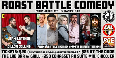 Roast Battle Comedy tickets