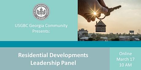 USGBC Georgia Presents: Leadership Panel - Residential Developments tickets
