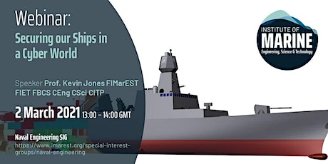 WEBINAR: Securing our Ships in a Cyber World tickets