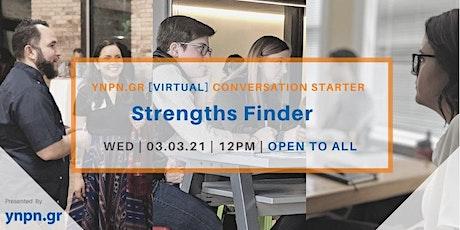 Strengths Finder tickets