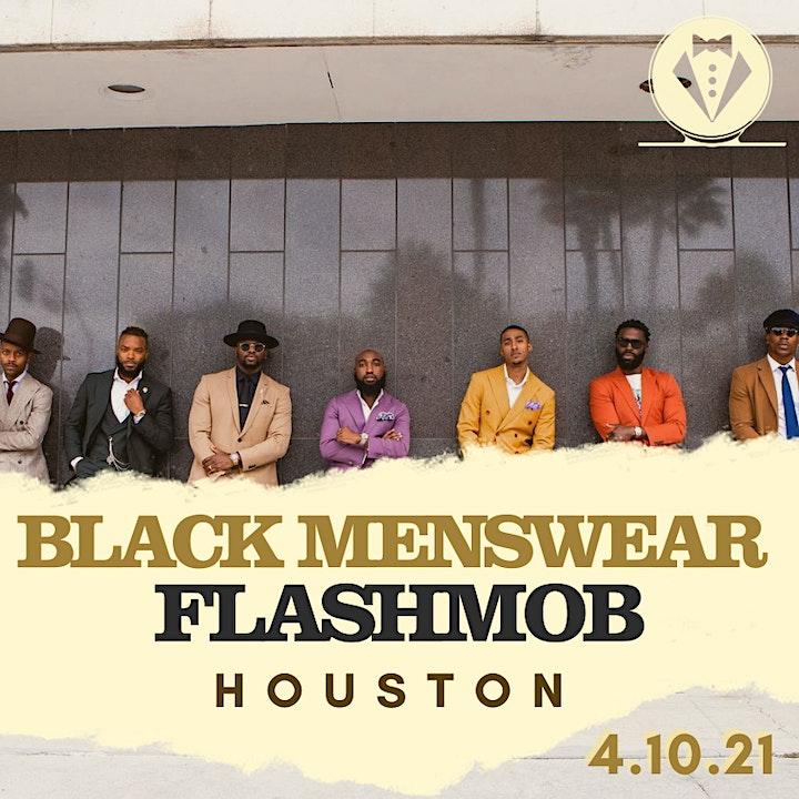 Black Menswear FlashMob Houston image