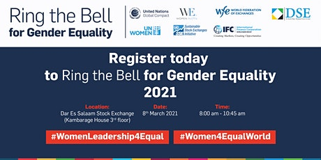 Ring the Bell for Gender Equality tickets