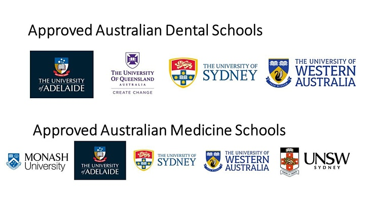 Australia Medicine & Dentistry Webinar + application day image