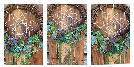 Succulent Dreamcatcher Workshop tickets