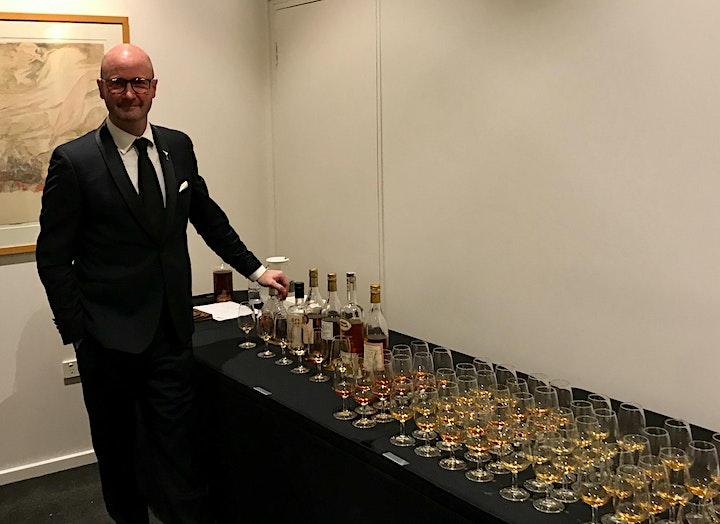 Silvio Carta Gin Tasting with Phillip Jones AKA The Martini Whisperer image