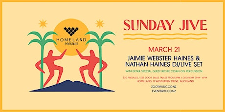 """Sunday Jive"" with Nathan Haines and DJ Jaimie Webster Haines tickets"