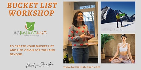Create your Bucket List Vision for 2021 - War Child Event Group 3 tickets