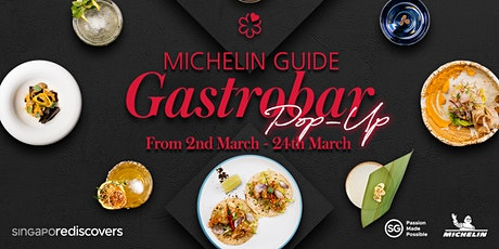 MICHELIN Guide Gastrobar Pop-ups tickets