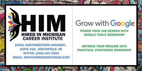 Grow With Google Improve Your Resume with Practical Strategies tickets