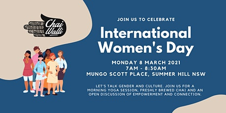 Chai, Yoga and Chat for International Women's Day tickets