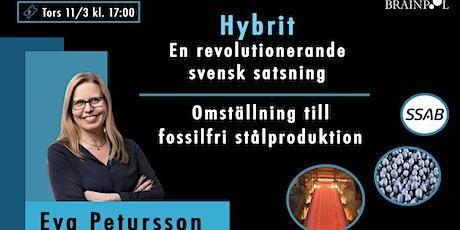 Hybrit – En revolutionerande svensk satsning Eva Petursson, tickets