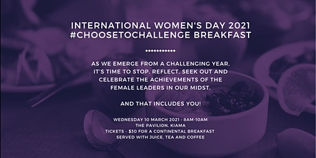International Women's Day - 'Choose to Challenge' Breakfast tickets