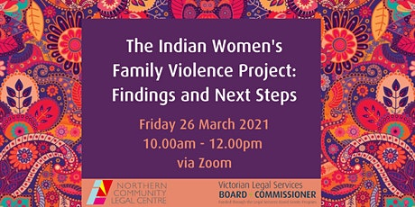 Indian Women's Family Violence Project: Findings and Next Steps tickets