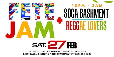 FETE JAM - Caribbean Event tickets
