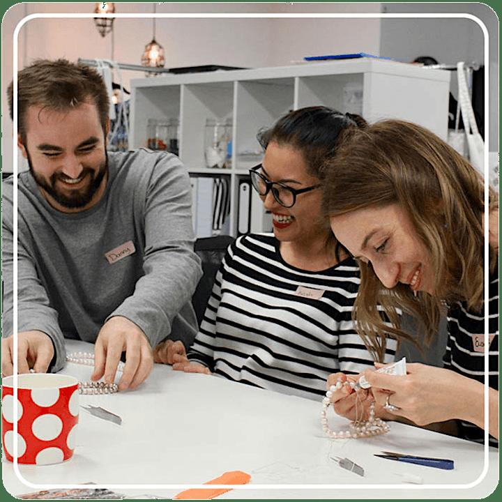 Pearl Stringing Workshop - Handmake a Pearl Necklace image