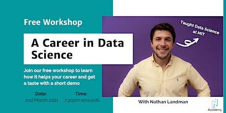 [Series 2] Reinvention Week Day 2: Data Science Free Workshop tickets