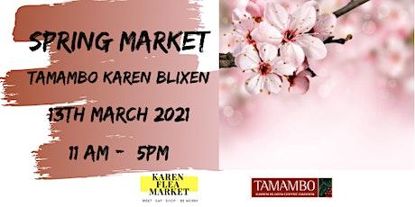 Spring Market Tamambo tickets