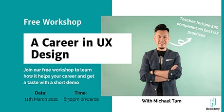 [Series 2] Reinvention Week Day 7: UX Design Free Workshop tickets