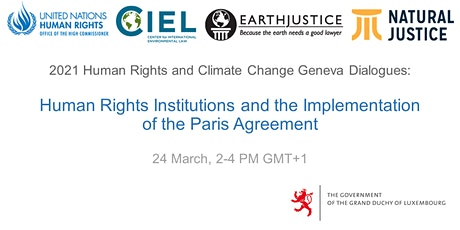 Human Rights Institutions and the Implementation of the Paris Agreement tickets