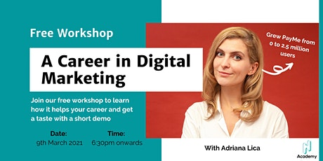 [Series 2] Reinvention Week Day 6:  Digital Marketing Free Workshop tickets