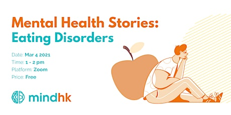 Mental Health Stories: Eating Disorders | Mind HK tickets