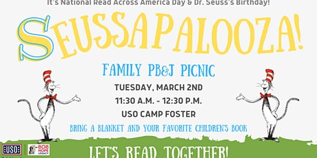 USO Camp Foster's BHLRP Story Time: Seuss-A-Palooza tickets