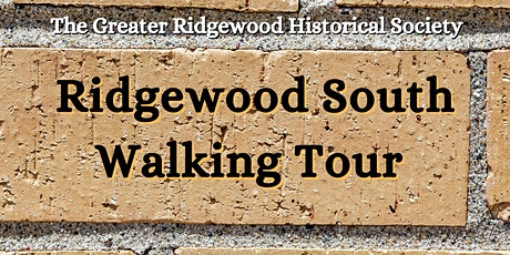Ridgewood South Walking Tour tickets