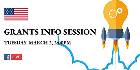 Grants Info Session tickets