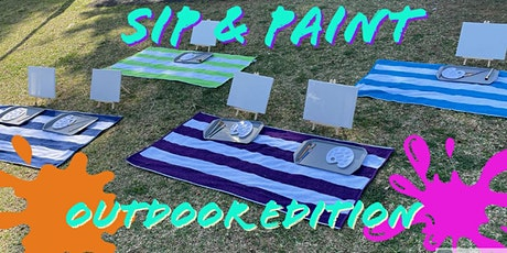 Sip & Paint........Outdoor edition tickets