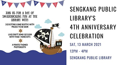 Sengkang Public Library's 4th Anniversary tickets