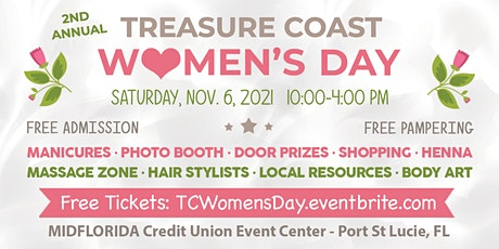 Treasure Coast Women's Day tickets