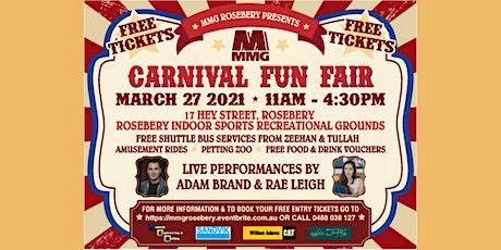 MMG Rosebery Mine 85th Anniversary Carnival Fun Fair with Adam Brand tickets