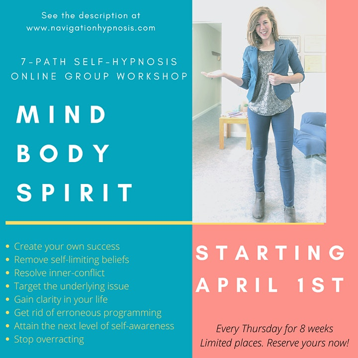 The Self-Hypnosis Live Workshop with the 7-Path Self-Hypnosis Program® image