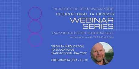From TA in Education to Educational Transactional Analysis (Giles Barrow) tickets