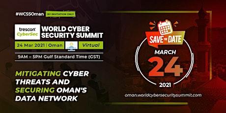 World Cyber Security Summit - Oman tickets