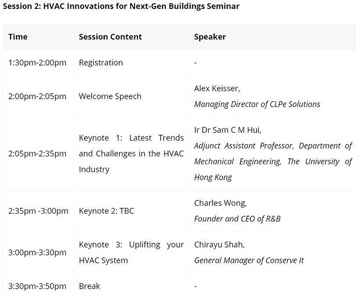 SEC Sustainable and Smart Buildings Symposium image