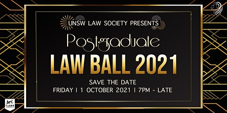 UNSW Postgraduate Law Ball tickets