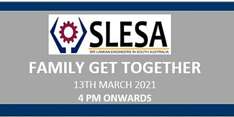 SLESA FAMILY GET TOGETHER - 2021 tickets