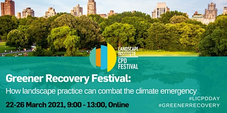 Greener Recovery Festival tickets