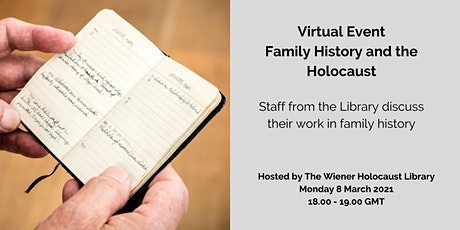 Virtual Event: Family History and the Holocaust tickets
