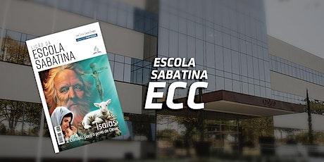 Escola Sabatina ECC ingressos