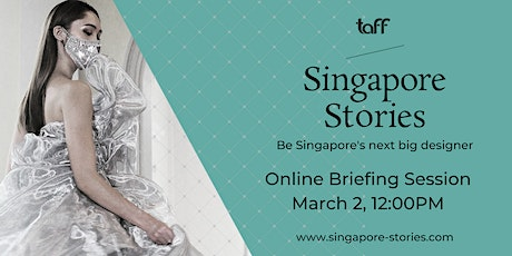 Singapore Stories 2021 Online Briefing Session tickets