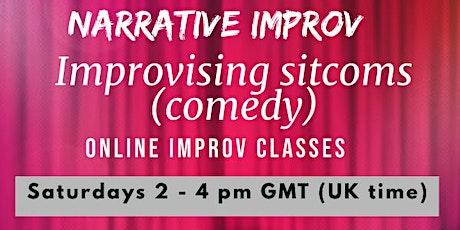 Narrative improv - Improvising sitcoms (comedy) tickets