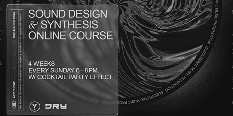 Sound Design & Synthesis Online Course tickets