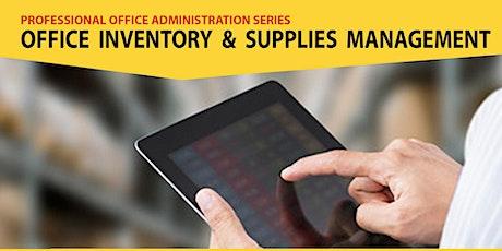 Live Webinar: Office Inventory & Supplies Management tickets