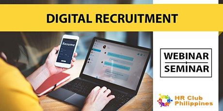 Live Webinar: Digital Recruitment Management tickets