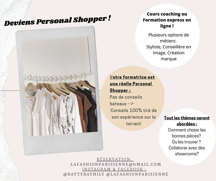 Image pour FORMATIONSTYLISTE ET PERSONAL SHOPPING
