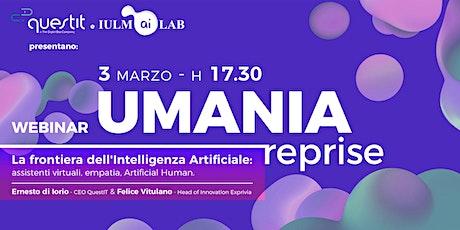 La frontiera dell'Intelligenza Artificiale: Artificial Human biglietti